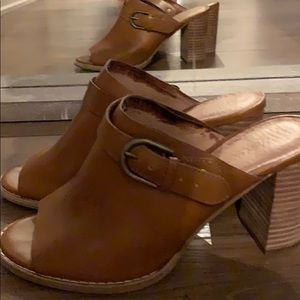 Madewell leather heels
